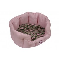 Oval Bed - Vaaleanpunainen