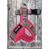 Nordic Lights Mesh Y-valjas, pinkki
